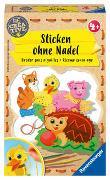 Cover-Bild zu Ravensburger 18227 Be Creative Sticken ohne Nadel, DIY für Kinder ab 4 Jahren