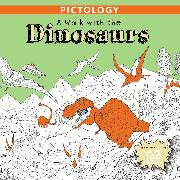 Cover-Bild zu Little Bee Books: A Walk with the Dinosaurs