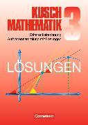 Cover-Bild zu Kusch Mathematik 3. Differentialrechnung. Aufgabensammlung mit Lösungen von Jung, Heinz