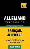 Cover-Bild zu Vocabulaire Français-Allemand pour l'autoformation - 7000 mots