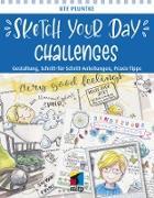 Cover-Bild zu Sketch Your Day Challenges (eBook) von Pluntke, Ute