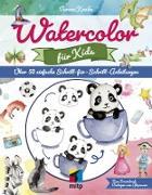 Cover-Bild zu Watercolor für Kids (eBook) von Knabe, Verena