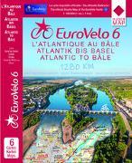 Cover-Bild zu EuroVelo 6 (Atlantic - Basel) 1:100 000. 1:100'000 von Huber Kartographie