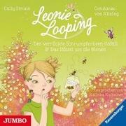 Cover-Bild zu Leonie Looping. Der verrückte Schrumpferbsen-Unfall / Das Rätsel um die Bienen von Stronk, Cally
