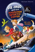 Cover-Bild zu Die Jagd nach dem magischen Detektivkoffer, Band 1: Die Jagd beginnt! von Stronk, Cally