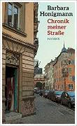 Cover-Bild zu Honigmann, Barbara: Chronik meiner Straße