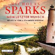 Cover-Bild zu Mein letzter Wunsch (Audio Download) von Sparks, Nicholas