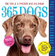 Cover-Bild zu 365 Dogs Page-A-Day Calendar 2021 von Workman Calendars
