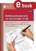 Cover-Bild zu Mathematikunterricht mit DaZ-Schülern 8-10 (eBook) von Stey, Julian