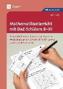 Cover-Bild zu Mathematikunterricht mit DaZ-Schülern 8-10 von Stey, Julian