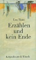 Cover-Bild zu Erzählen und kein Ende (eBook) von Timm, Uwe