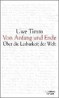 Cover-Bild zu Von Anfang und Ende (eBook) von Timm, Uwe