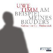 Cover-Bild zu Am Beispiel meines Bruders (Audio Download) von Timm, Uwe