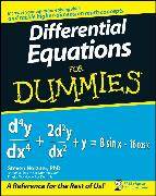 Cover-Bild zu Holzner, Steven: Differential Equations For Dummies (eBook)