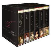 Jane Austen, Die großen Romane (Die Abteil von Northanger - Emma - Mansfield Park - Stolz und Vorurteil - Überredung - Verstand und Gefühl) (6 Bände im Schuber) von Austen, Jane