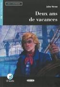Cover-Bild zu Deux ans de vacances. Französische Lektüre für das 2. und 3. Lernjahr. Lektüre + Audio-CD von Verne, Jules