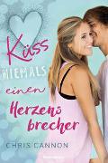 Cover-Bild zu Küss niemals einen Herzensbrecher von Cannon, Chris