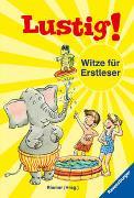 Cover-Bild zu Lustig! Witze für Erstleser von Riemer, Claudia (Hrsg.)