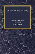 Im Frieden Und Im Krieg von Timpson, George F.