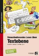 Cover-Bild zu Sinnentnehmendes Lesen üben: Textebene (eBook) von Rosendahl, Julia
