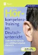 Cover-Bild zu Hörkompetenz-Training im Deutschunterricht. Klasse 5/6 von Schäfer, Stefan