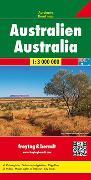 Australien, Autokarte 1:3.000.000. 1:3'000'000 von Freytag-Berndt und Artaria KG (Hrsg.)