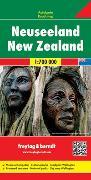 Neuseeland, Autokarte 1:700.000. 1:700'000 von Freytag-Berndt und Artaria KG (Hrsg.)