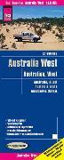 Reise Know-How Landkarte Australien, West / Australia, West (1:1.800.000). 1:1'800'000 von Peter Rump, Reise Know-How Verlag
