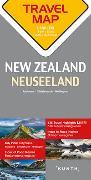 Reisekarte Neuseeland 1:800.000. 1:800'000