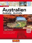 Australien Road Atlas von Hallwag Kümmerly+Frey AG (Hrsg.)