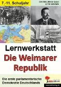 """Cover-Bild zu Lernwerkstatt """"Die Weimarer Republik"""""""