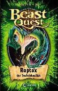 Cover-Bild zu Beast Quest (Band 39) - Raptox, der Teufelsbasilisk von Blade, Adam