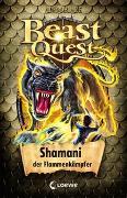Cover-Bild zu Beast Quest 56 - Shamani, der Flammenkämpfer von Blade, Adam