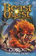 Cover-Bild zu Gorog the Fiery Fiend (eBook) von Blade, Adam
