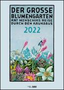 Cover-Bild zu Menschik, Kat (Künstler): Kat Menschik: Der große Blumengarten 2022 - Poster-Kalender - Spiralbindung - Format 50 x 70 cm