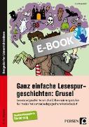 Ganz einfache Lesespurgeschichten: Grusel (eBook) von Rosendahl, Julia