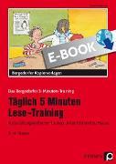 Täglich 5 Minuten Lese-Training - 3./4. Klasse (eBook) von Kirschbaum, Klara