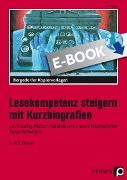 Lesekompetenz steigern mit Kurzbiografien (eBook) von Eggert, Jens