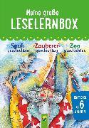 Cover-Bild zu Meine große Leselernbox: Spukgeschichten, Zauberergeschichten, Zoogeschichten (eBook) von Breitenborn, Anke