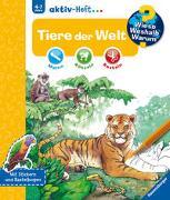 Cover-Bild zu Wieso? Weshalb? Warum? aktiv-Heft: Tiere der Welt von Richter, Stefan (Illustr.)