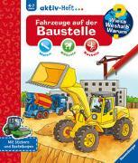 Cover-Bild zu Wieso? Weshalb? Warum? aktiv-Heft: Fahrzeuge auf der Baustelle von Coenen, Sebastian (Illustr.)
