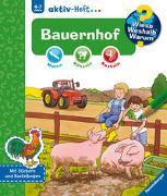 Cover-Bild zu Wieso? Weshalb? Warum? aktiv-Heft: Bauernhof von Merle, Katrin (Illustr.)