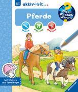 Cover-Bild zu Wieso? Weshalb? Warum? aktiv-Heft: Pferde von Wagner, Maja (Illustr.)