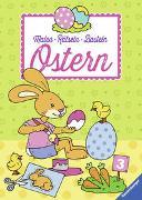 Cover-Bild zu Malen - Rätseln - Basteln: Ostern von Penner, Angelika