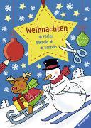 Cover-Bild zu Malen - Rätseln - Basteln: Weihnachten von Peikert, Marlit (Illustr.)