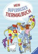 Cover-Bild zu Mein superdickes Tiermalbuch von Dölling, Andrea (Einbandgest.)