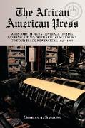 Cover-Bild zu Simmons, Charles A: African American Press