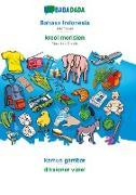 Cover-Bild zu BABADADA, Bahasa Indonesia - kreol morisien, kamus gambar - diksioner viziel