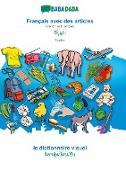 Cover-Bild zu BABADADA, Français avec des articles - Tibetan (in tibetan script), le dictionnaire visuel - visual dictionary (in tibetan script)