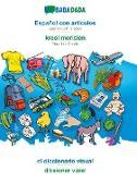Cover-Bild zu BABADADA, Español con articulos - kreol morisien, el diccionario visual - diksioner viziel